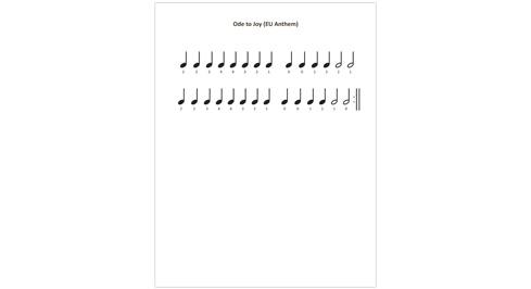 Ode to Joy (EU Anthem)