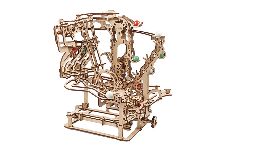 Механічна модель Марбл-траса Ланцюговий підйомник