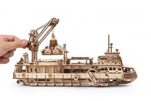 Механічна модель «Науково-дослідне судно»