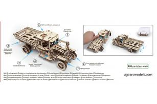 Truck UGM-11 mechanical model