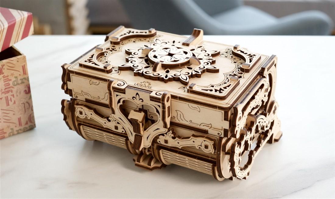 Details about  /Mechanical UGEARS wooden puzzle Model Royal Сarriage Construction Set
