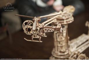 Mechanischer Modellbausatz Flieger