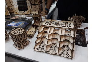 Das Ugears Games Team trifft sich auf der Spiel'19 in Essen mit Freunden