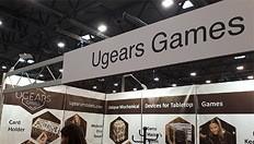 El equipo de Ugears Games se encuentra con amigos en Spiel '19 en Essen