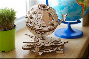 Round and round it goes. Introducing UGEARS new Globe, Carousel, and Mars Buggy
