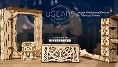 Ugears presenta dispositivos mecánicos únicos para juegos de mesa