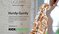 Ugears lanza la serie Hurdy-Gurdy y Mechanical City
