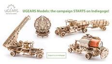 UGEARS lanza los modelos de madera mecánicos autopropulsados más cool en INDIEGOGO