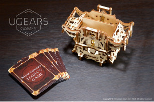Deck Box: device kit for card games
