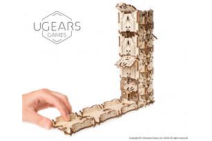 Modularer Würfelturm, mechanische Holzvorrichtung für Tabletop-Spiele
