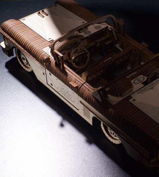 Ugears Dream Cabriolet VM-05 mechanical model kit