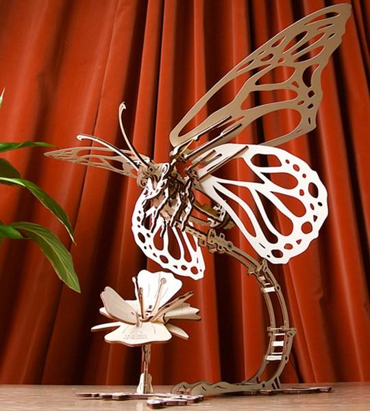 Butterfly: Ugears Mechanical Model