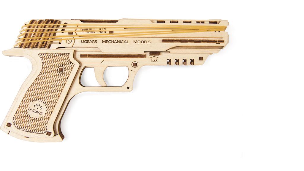 'Wolf-01 Handgun' mechanical model kit