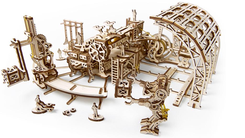 Fábrica de Robots – maqueta para construir