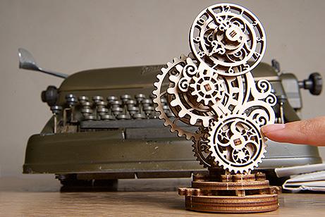 Reloj retrofuturista