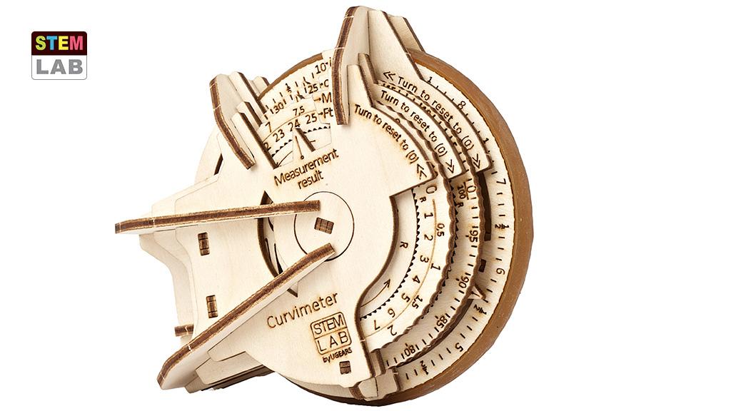 Curvimeter educational mechanical model kit
