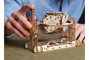 Der Zufallsgenerator, ein didaktischer mechanischer Modellbausatz