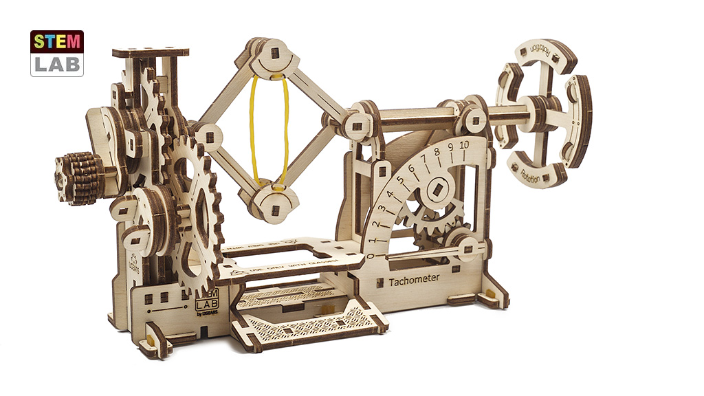 Tahometer educational mechanical model kit