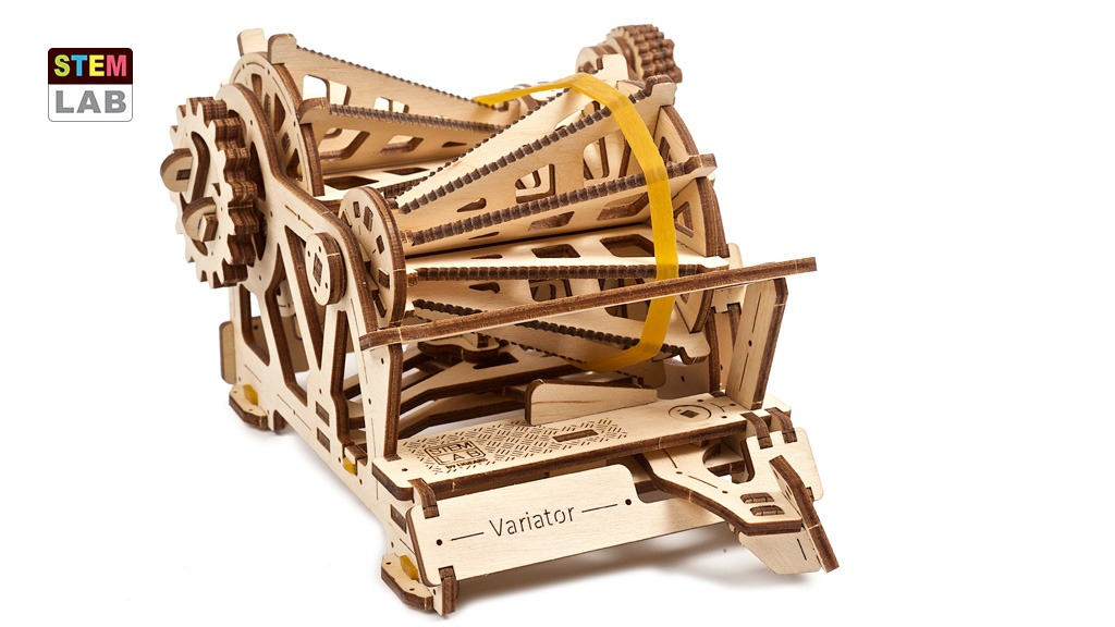 Variator, educational mechanical model kit