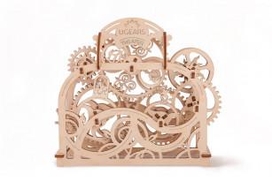 Teatro – maqueta mecánica de madera