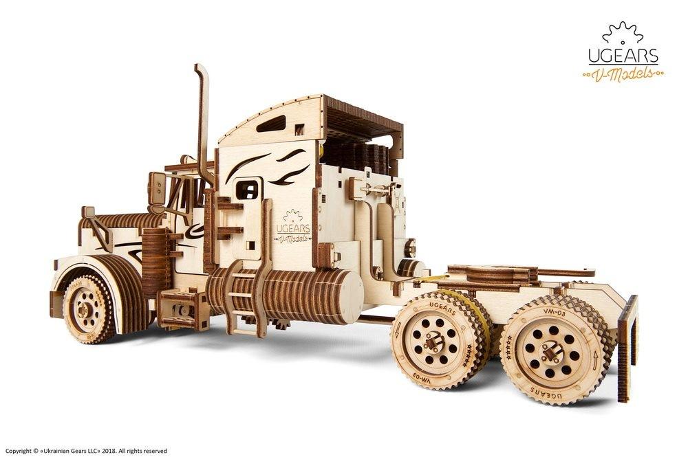 541 Piece for sale online UGEARS VM-03 3D Puzzle Heavy Boy Truck