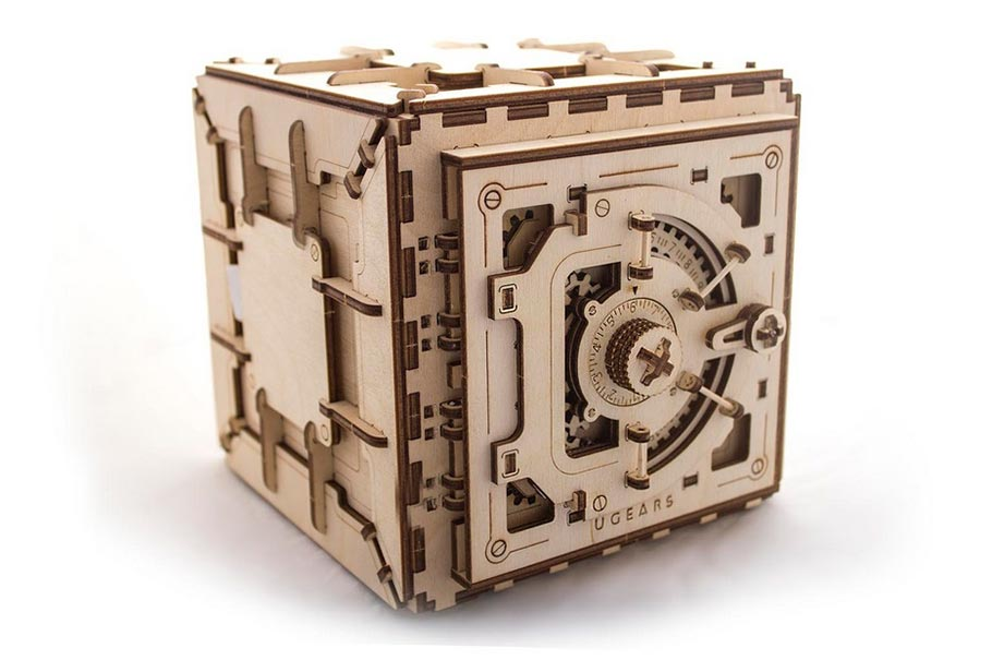 Wooden «Safe» with personal lock combination