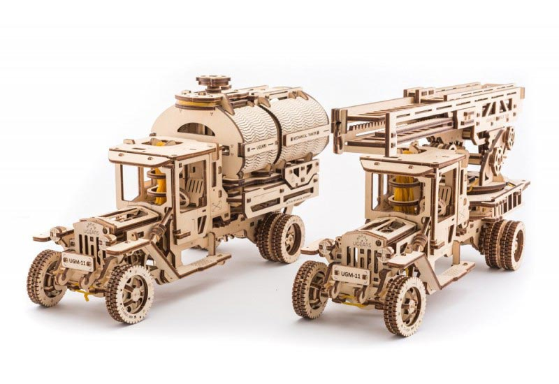 3D puzzle «Truck UGM-11»