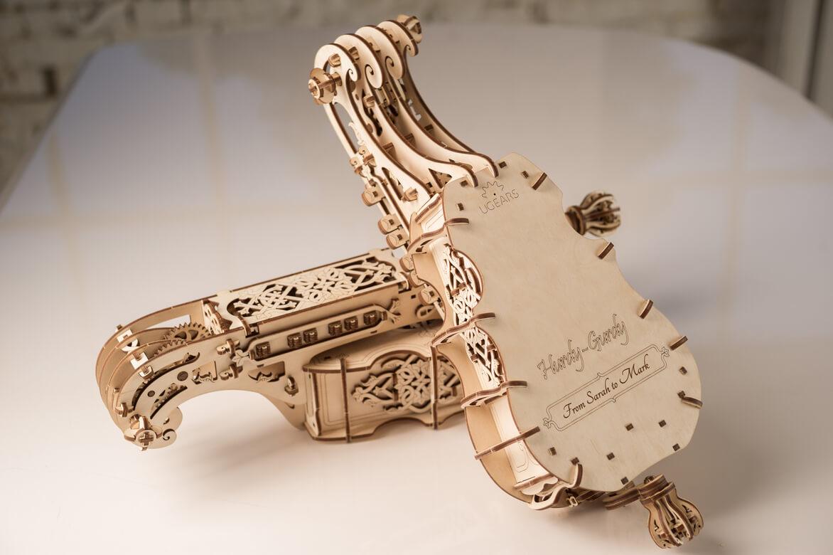 Rompecabezas 3D de madera La Zanfoña