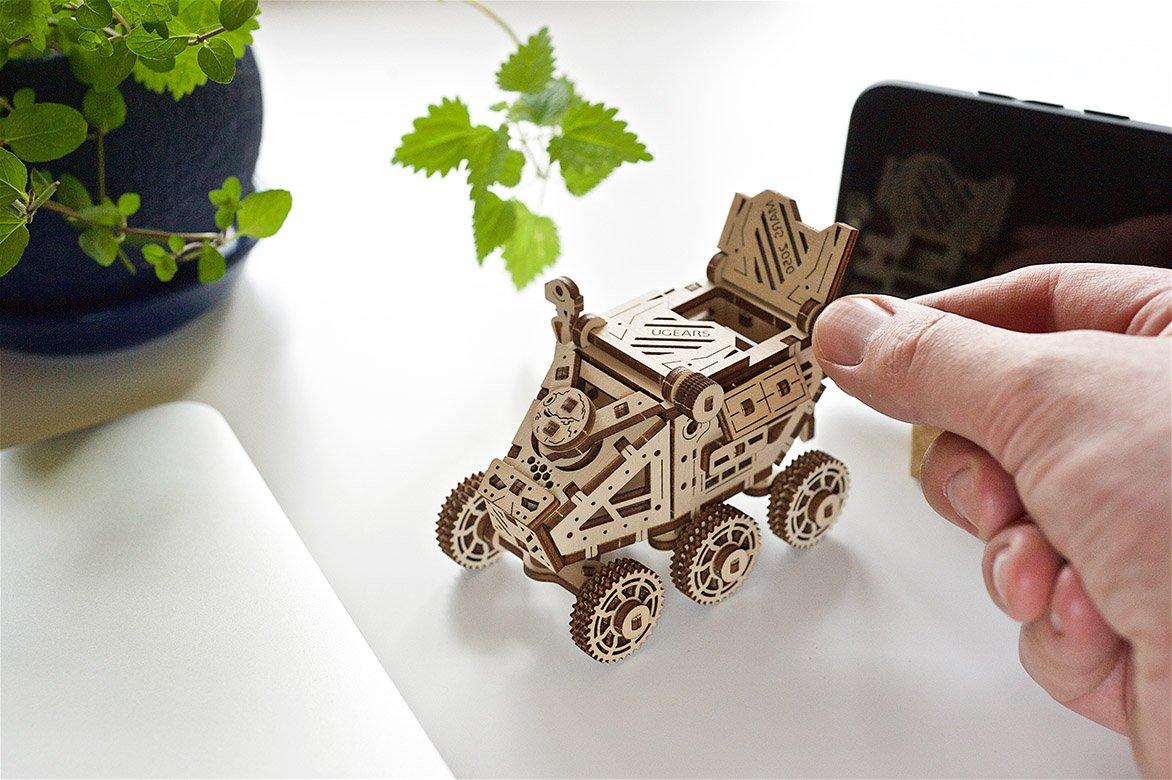 Ugears Mars Buggy mechanical model