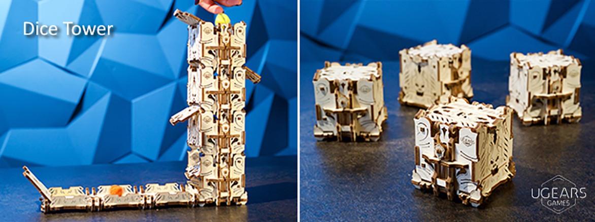 The Modular Dice Tower