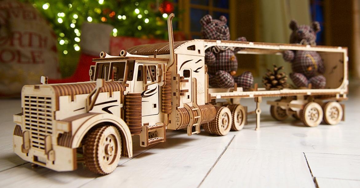 Heavy Boy Truck VM-03 and Truck Trailer VM-03