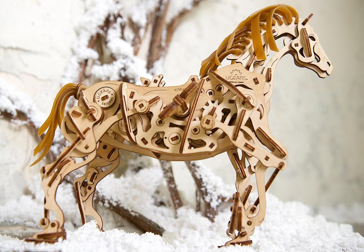Horse Mechanoid mechanical model
