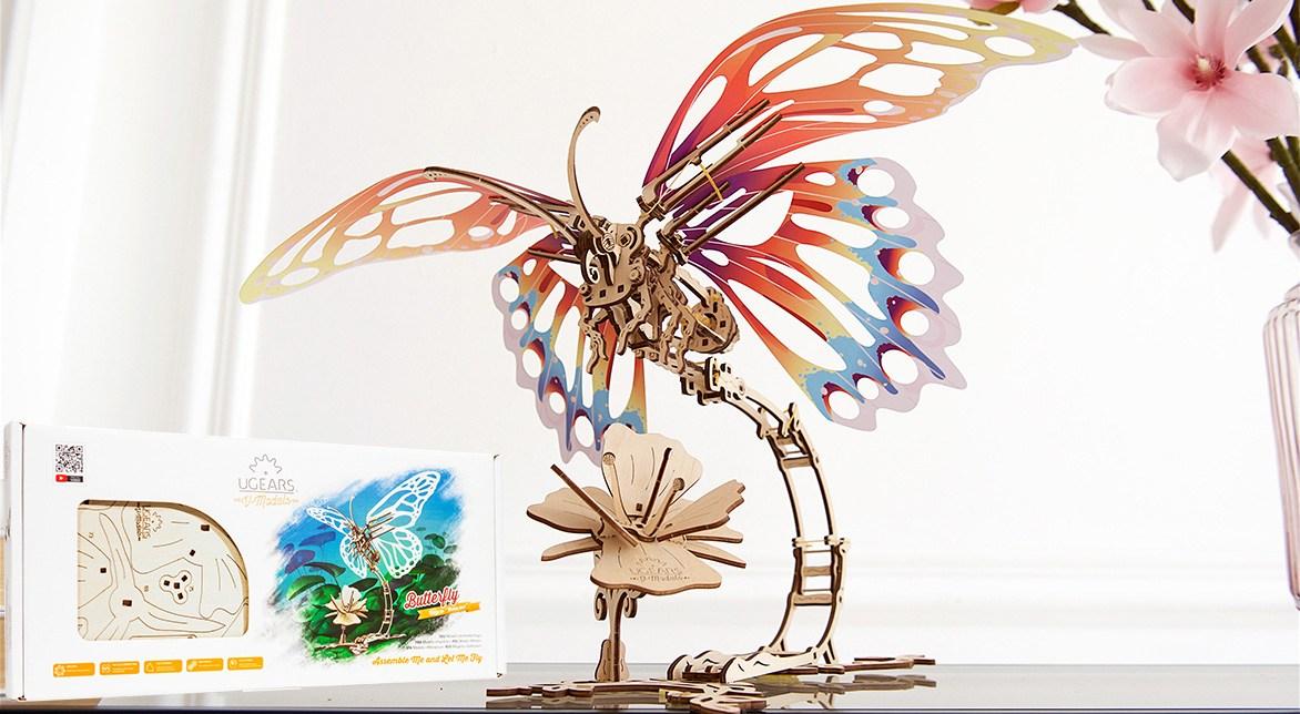 ugears Der Schmetterling
