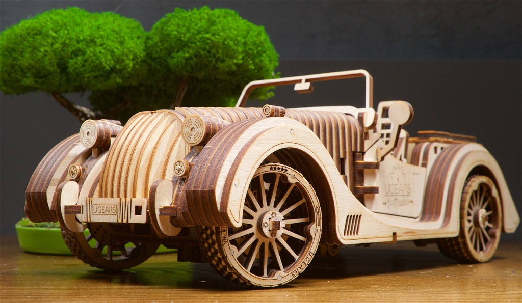 the Ugears Roadster